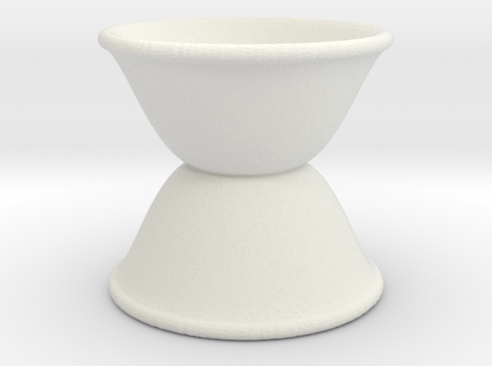egg cup reverse stacked tall 3d printed