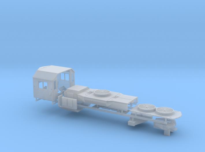 Z Scale GP38 Parts 3d printed
