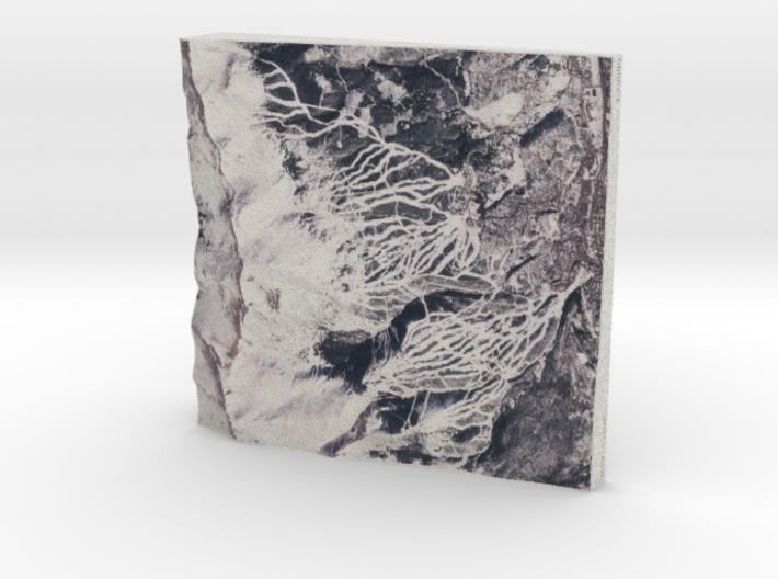Breckenridge in Winter, Colorado, USA, 1:25000 3d printed
