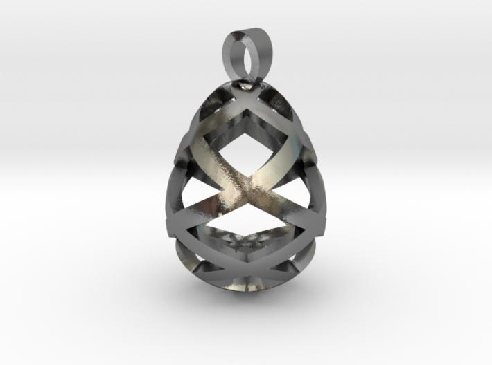 Egg openwork [pendant] 3d printed