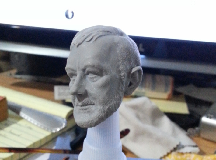 1-6 Alec Head for Action Figure 3d printed Printed on my Duplicator 6