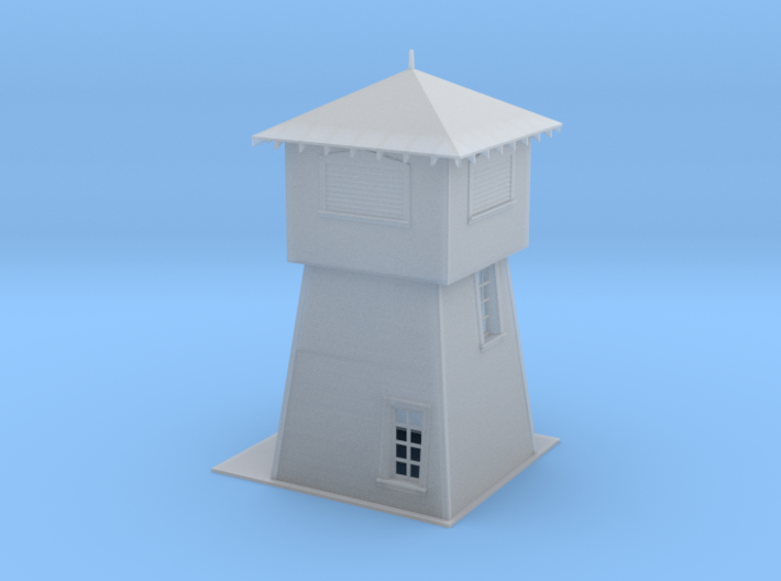 N Scale Krohn Water Tower 3d printed