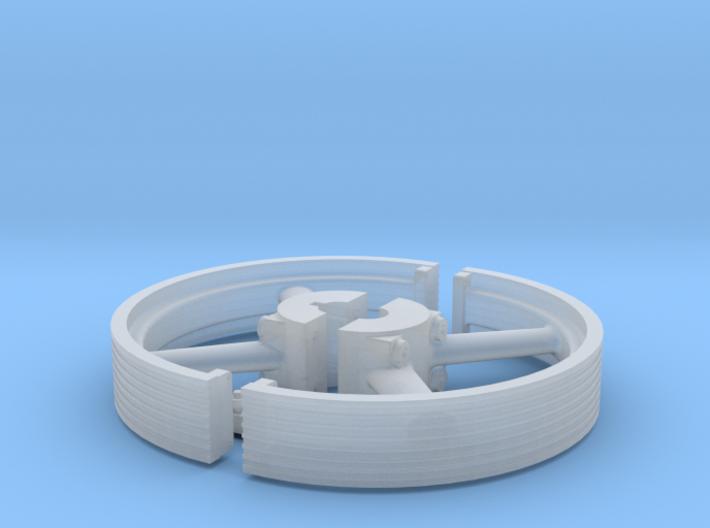 Split Grooved Pulley 3d printed