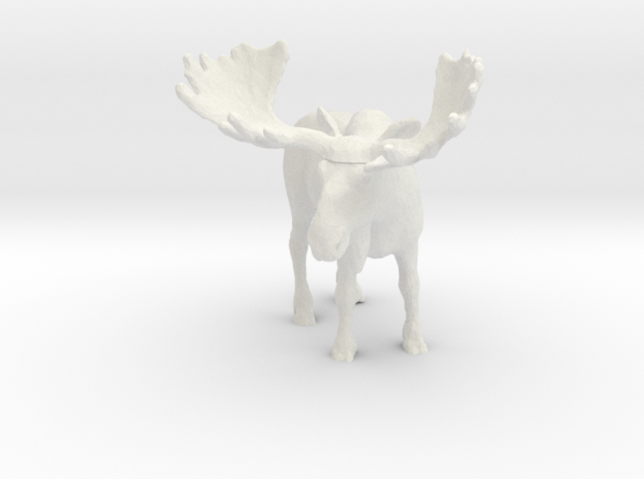 S Scale Moose 3d printed This is a render not a picture