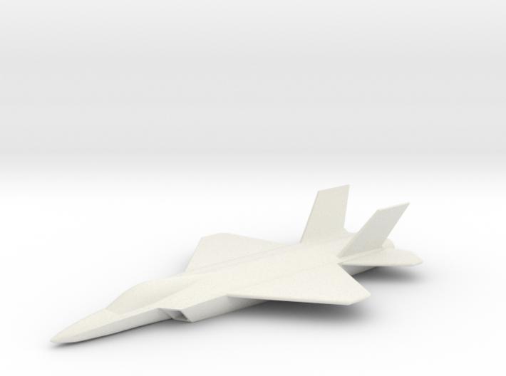 HAL AMCA (Advanced Medium Combat Aircraft) 3d printed
