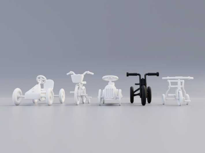 Kids tricycle 3d printed Multiple vehicles available!