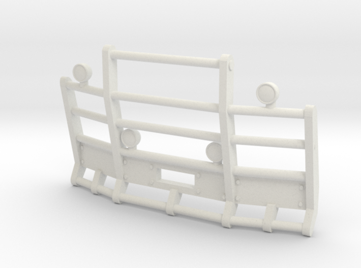 1/64th Herd or Road Train angled bumper 3d printed