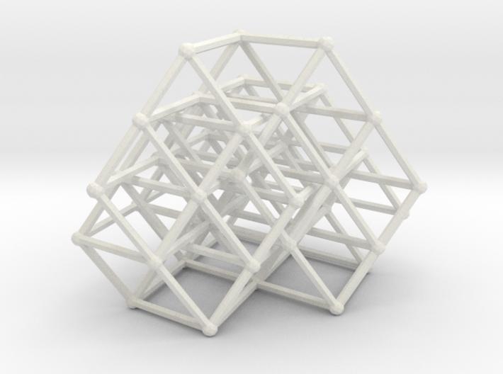 Fibonacci cube of order 8 3d printed