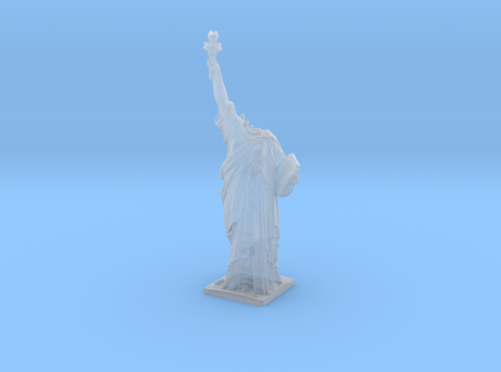 Cloverfield Statue of Liberty  3d printed
