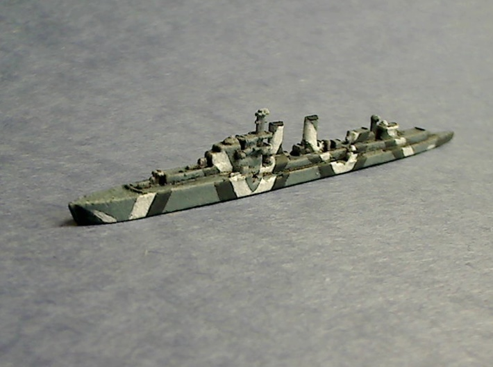 Emden  1/1800 3d printed Expertly painted by Lethe