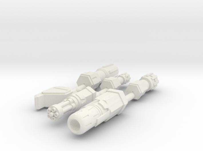 6mm Weapon Sprue B 3d printed
