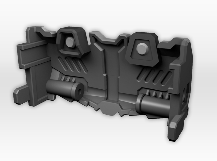 Titans Return Megatron IDW Styled Chestplate 3d printed