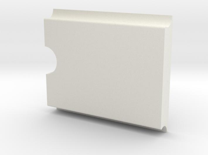 Tubman Stamp Slim handle (No stamp, handle only) 3d printed
