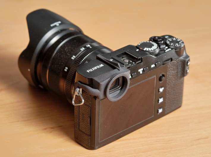 Eyecup adaper for Fuji X-E3 3d printed Adapter without eyecup
