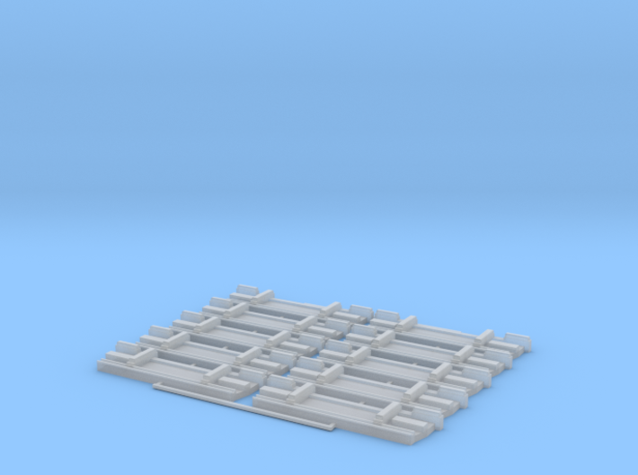 Lamberet SR1 Heckplatte x10 3d printed