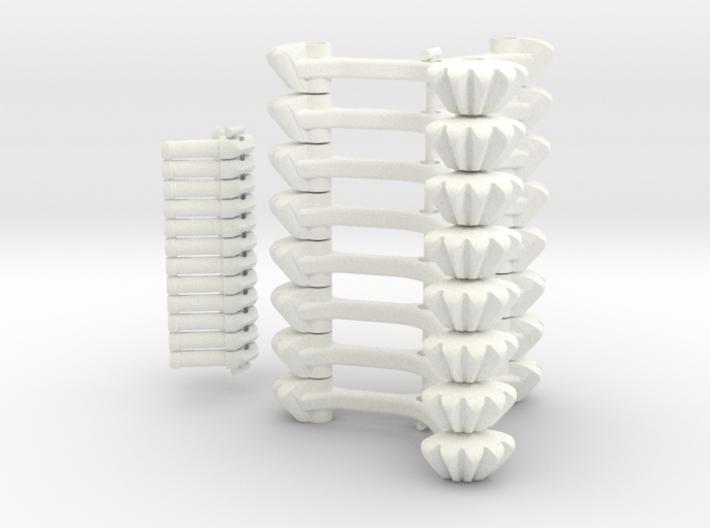 Geared Jitterbug 3d printed