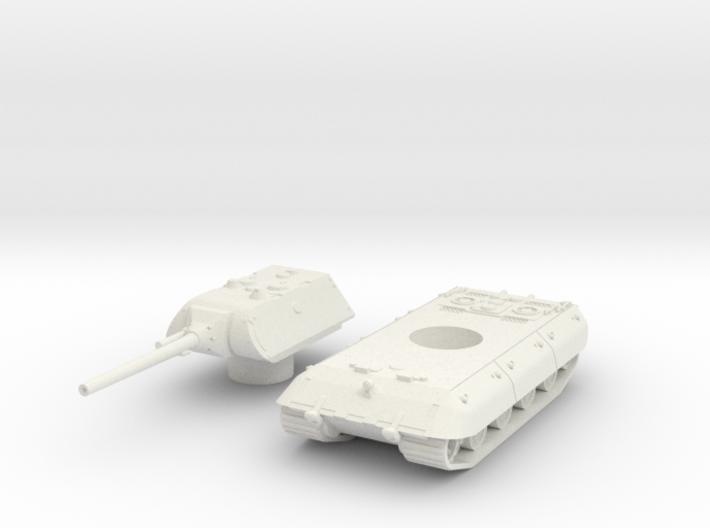 E-100 tank 1/45 3d printed