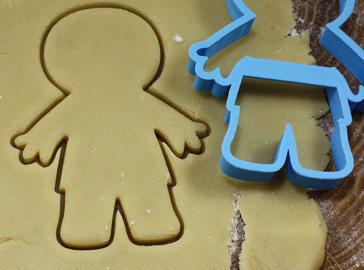 Mummy cookie cutter for professional 3d printed