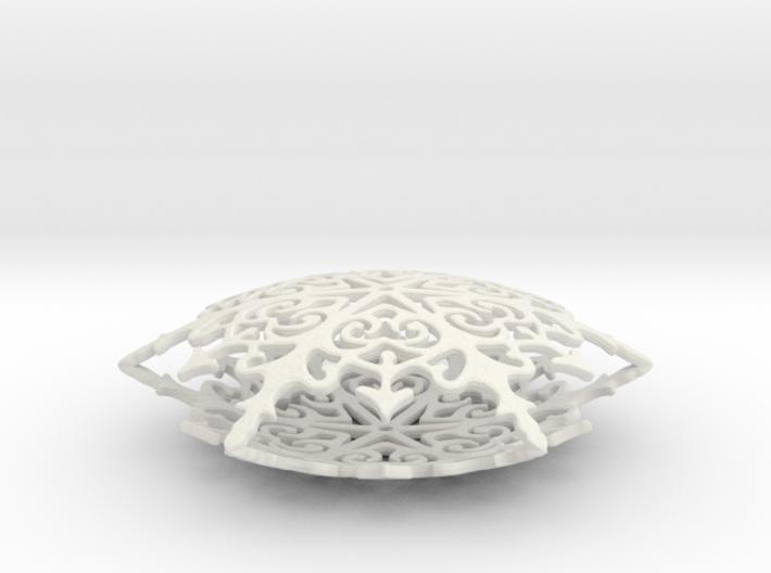 Royal Christmas Snowflake 3d printed