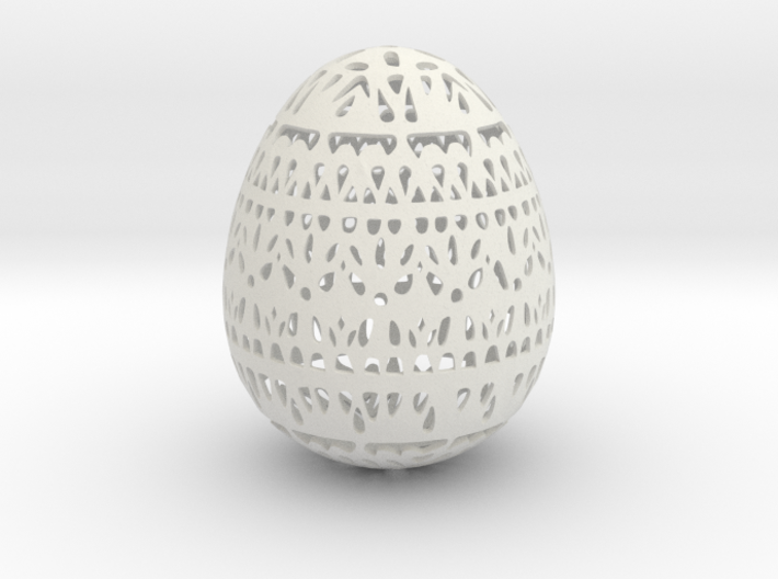 Classical Easter Egg  3d printed
