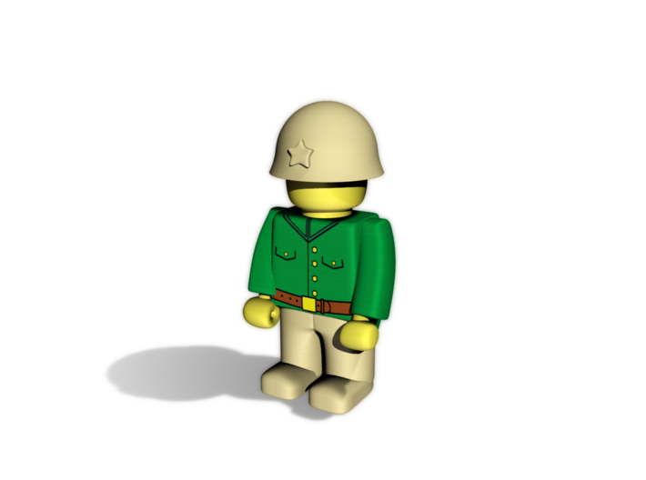 Japanese Army 3d printed Example usage