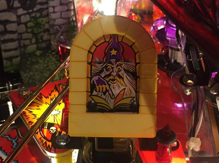 Pinball MM Wizard Stone Arch 3d printed