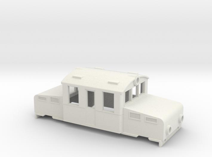 Swedish SJ accumulator locomotive type Öa - H0-sca 3d printed