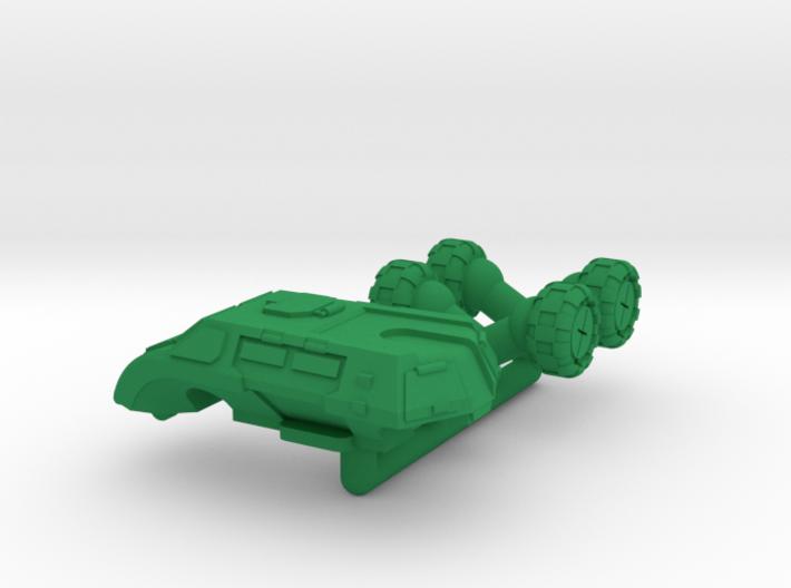 Legionnaire Light Wheeled Armor - 6mm 3d printed