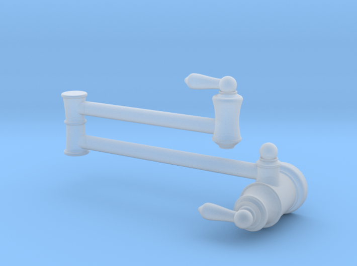 Pot Filler Traditional - Stationary 3d printed