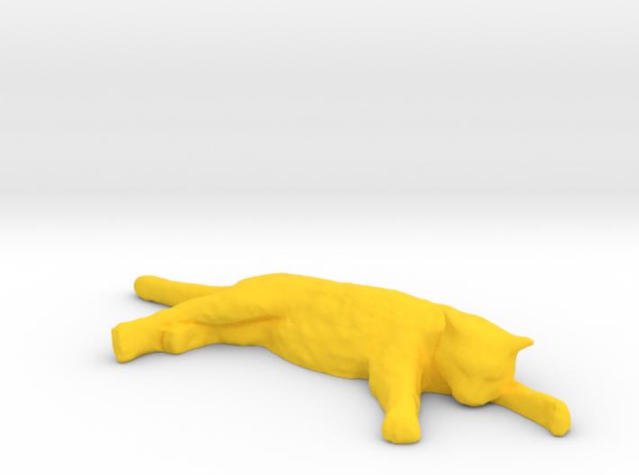 1/6 Scale Sleeping Cat 3d printed