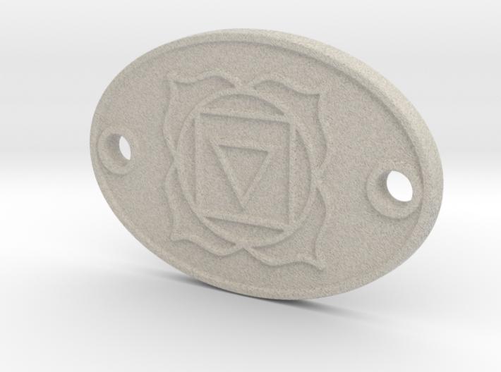Root Chakra Aromatherapy Convertible Pendant 3d printed