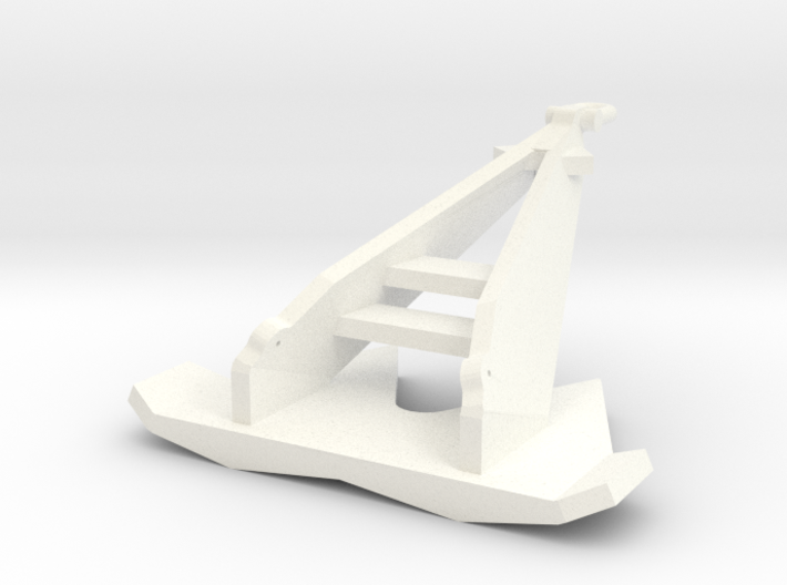 8 ton offshore anchor (1:200) 3d printed