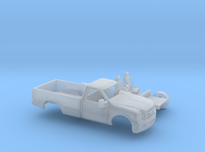 1/160 2005-07 Ford FSeries RegCab LongBed Kit 3d printed
