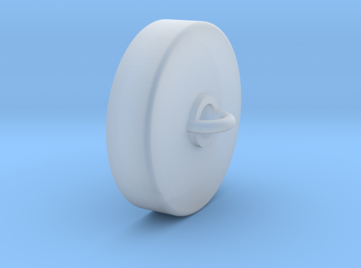 Ceiling Plate/Hook for Chandelier - Contemp 3d printed
