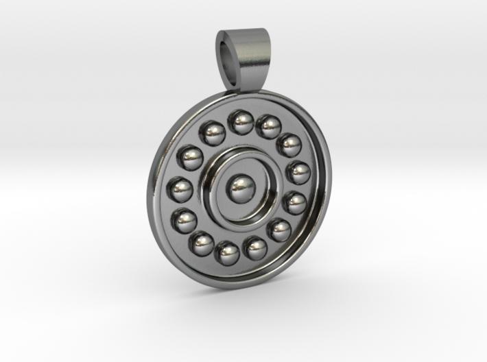 Antique solar system [pendant] 3d printed