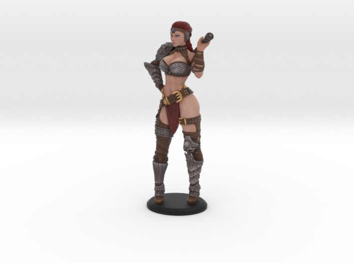 Barb Full Color 3d printed