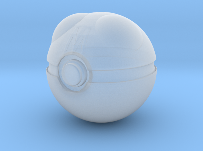 1/3rd Scale Master Pokeball 3d printed