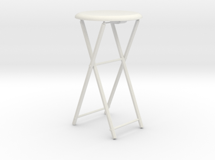 1/3rd scale Stool 3d printed