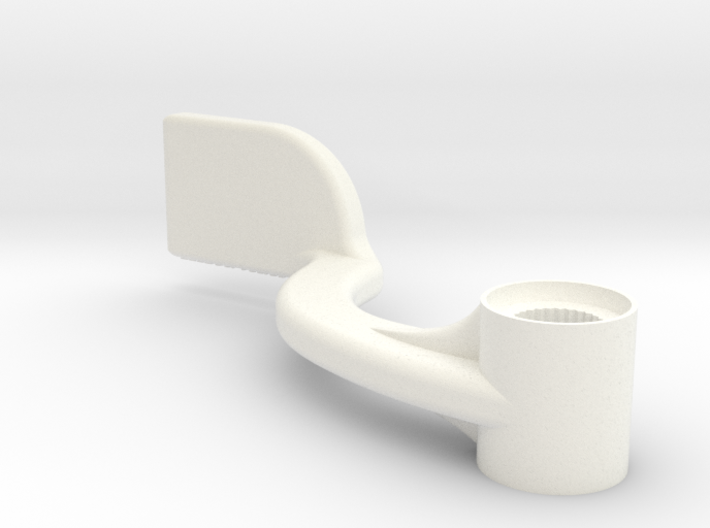 Lancia Delta 1 Steering wheel hight lever 3d printed