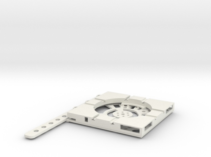 T-165-wagon-turntable-48d-100-plus-base-flat-1a 3d printed