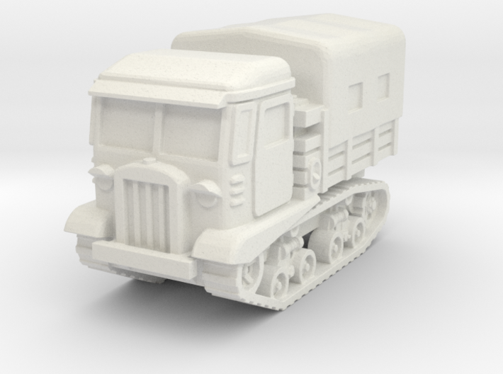 STZ 5 tractor (covered) scale 1/87 3d printed