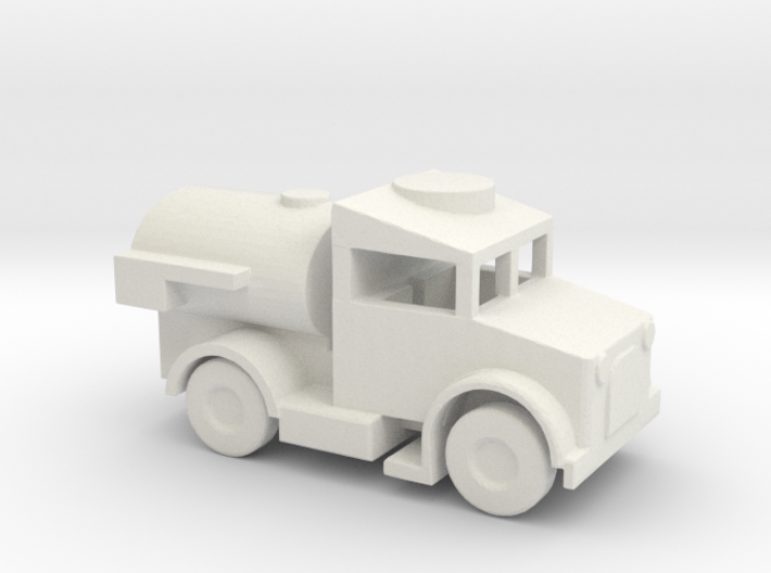 1/144 Scale Bedford MWC Tanker 3d printed