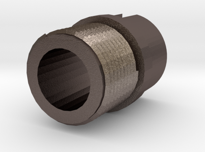 Incognito 14mm- Muzzle Adapter for MP5 Front Sight 3d printed