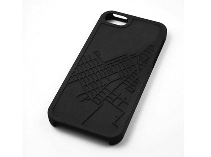 Red Hook Brooklyn Map iPhone 5/5s Case 3d printed