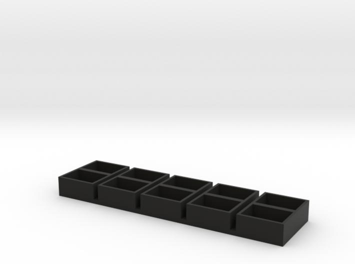 dual long 11x15x7 speaker box qty5 3d printed