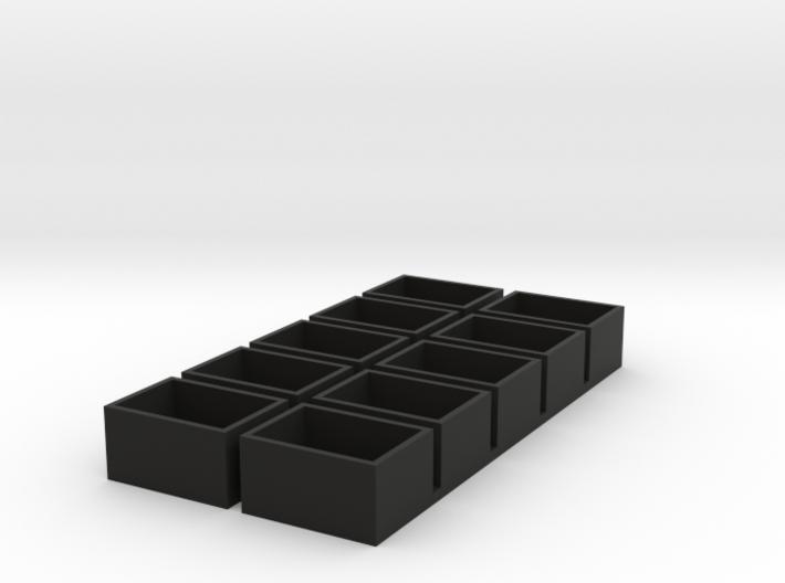 single 13x18x9.5 speaker box qty10 3d printed