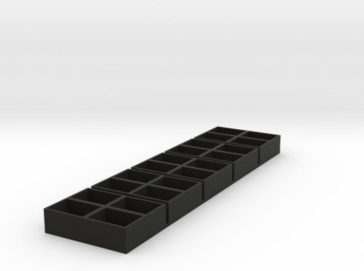 quad 2x2 13x18x9.5 speaker box qty5 3d printed