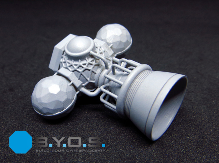 BYOS PART ENGINE SINGLE BELL 3d printed