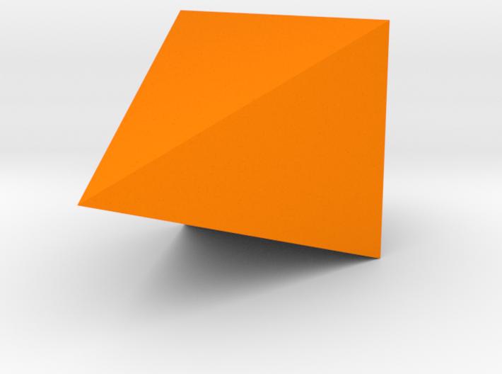 Geometric Hanging Seashell Planter 3d printed