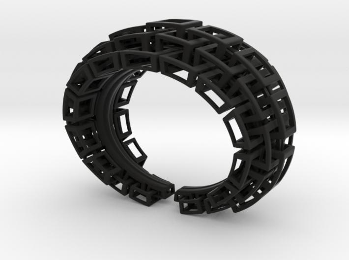 Kubusarmband-taps 3 lagen 3d printed